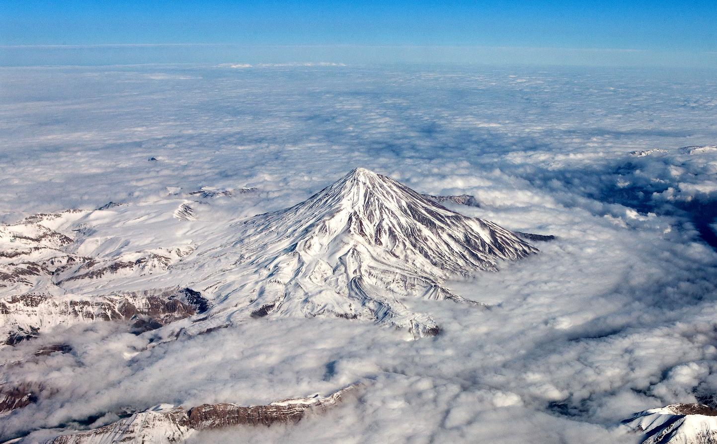 Volcano Damavand