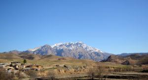 Dena peak popular target for hiking & trekking tours