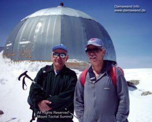 Mt. Touchal peak in Alburz Mountain Chain Iran