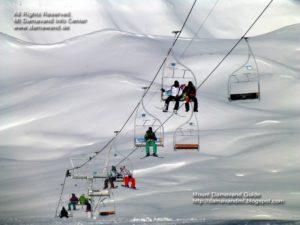 Tochal Ski Lift, Mt Tochal Ski Resort Tehran, Iran